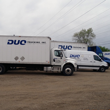 duo trucking expedited road service